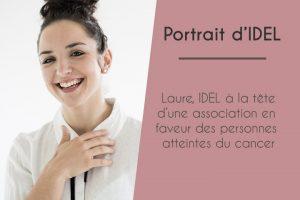Laure, IDEL à la tête d'une association en faveur des personnes atteintes du cancer