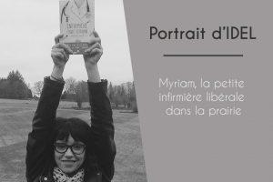 Myriam, la petite infirmière dans la prairie