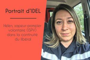 Helen, sapeur-pompier volontaire (ISPV) dans la continuité du libéral
