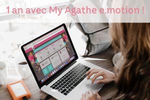 My Agathe e.motion souffle sa première bougie