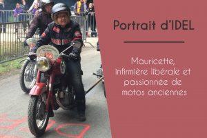 Mauricette, infirmière libérale et passionnée de motos anciennes