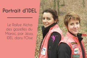 Le Rallye Aïcha des gazelles du Maroc, par Jessy, IDEL dans l'Oise