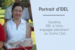 Sandrine, IDEL à Vichy, engagée pleinement au sein du Zonta Club