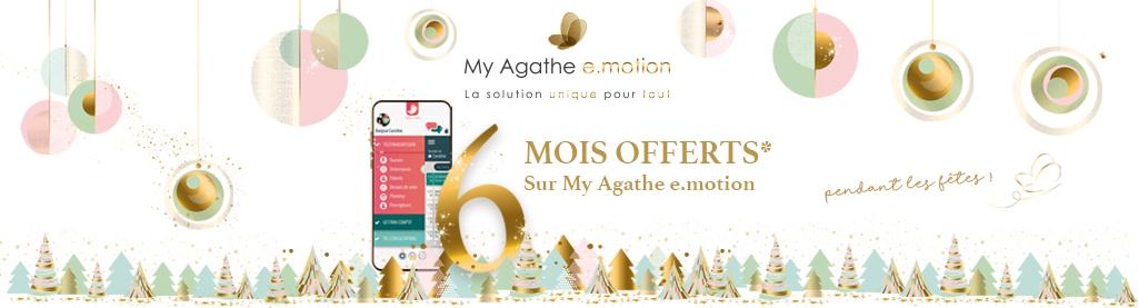 Offre de Noël My Agathe e.motion - 6 mois offerts