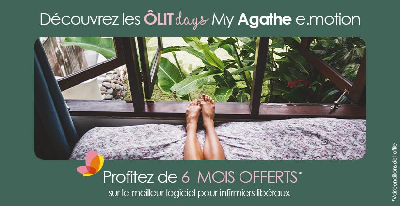 Offre de rentrée OLITdays : 6 mois offerts sur My Agathe e.motion