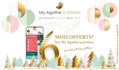 Offre de Noël My Agathe e.motion 6 mois offerts