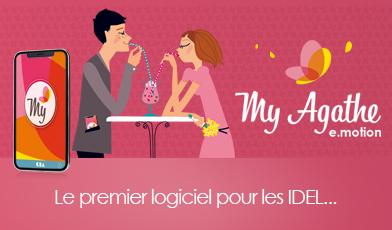 Publicité My Agathe e.motion, le logiciel de gestion pour infirmier infirmiers libéraux