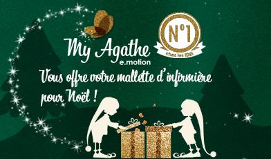 Publicité mallette offerte avec My Agathe e.motion
