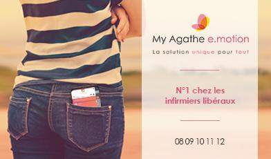 My Agathe e.motion, le logiciel numéro 1 des infirmiers libéraux