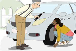 IDEL en panne de voiture