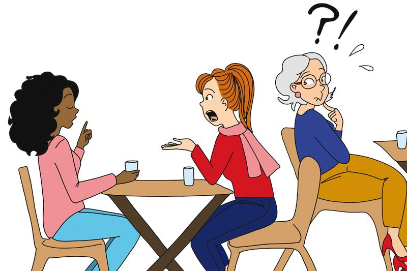 Les conversations entre collègues IDEL