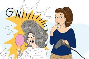 infirmière libérale et coiffeuse éphémère