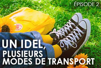 Un.e IDEL, plusieurs modes de transport. Episode 2