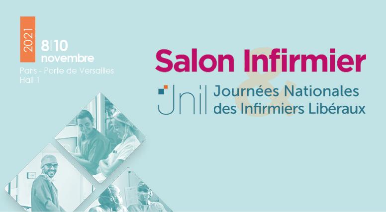 Salon Infirmier et Jnil à Paris du 8 au 10 novembre 2021