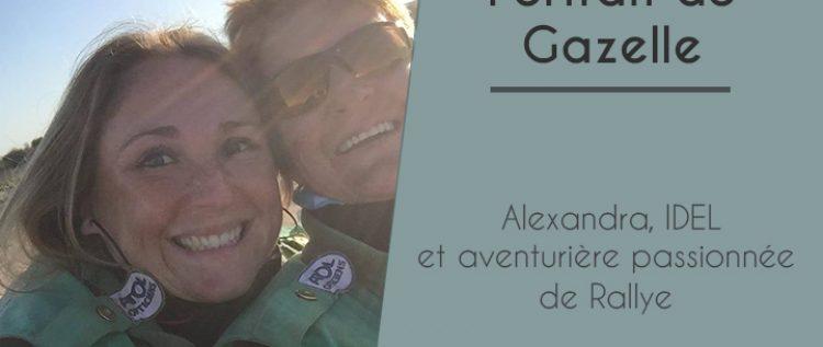 Alexandra, IDEL et aventurière passionnée de Rallye