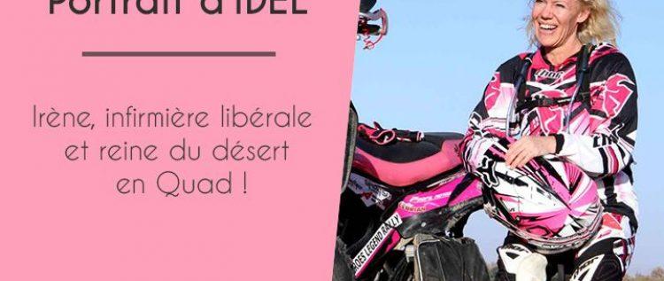 Irène, Infirmière libérale et reine du désert en Quad 2